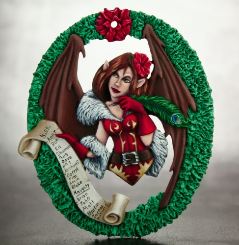 01435 Sophie Christmas Ornament 2011