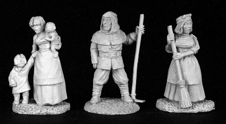 02825 Townsfolk V, Commoners