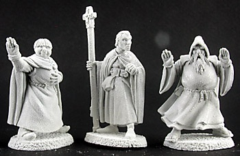 02950 Townsfolk VII: Clergy (3)