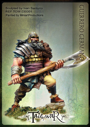30001 Germanic Warrior