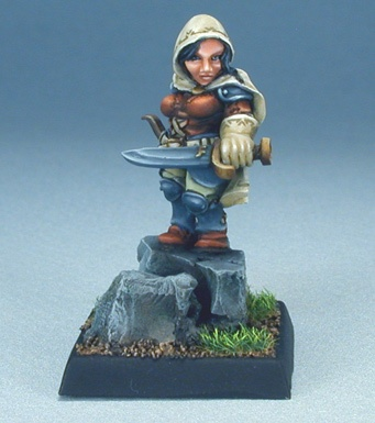 03125 Bailey Silverbell, Female Dwarf Scout