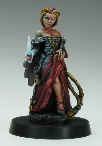 03329 Hannah Blackruby, Female Wizard