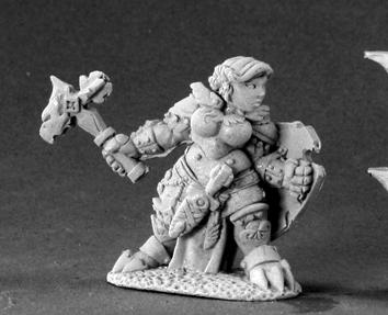 03413 Nalila Goldhammer, Female Dwarf