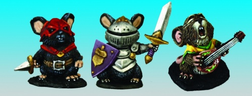 03542 Mousling (Bard, Thief, Knight)