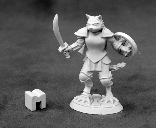 03928 Steelclaw, Catfolk Paladin