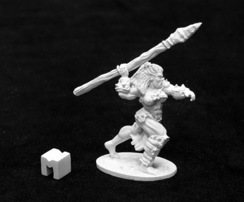 03937 Jade Fire Spearmaiden