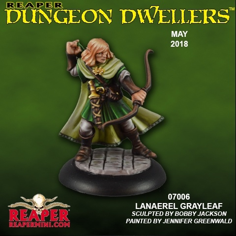 07006 Dungeon Dwellers: Lanaerel Grayleaf