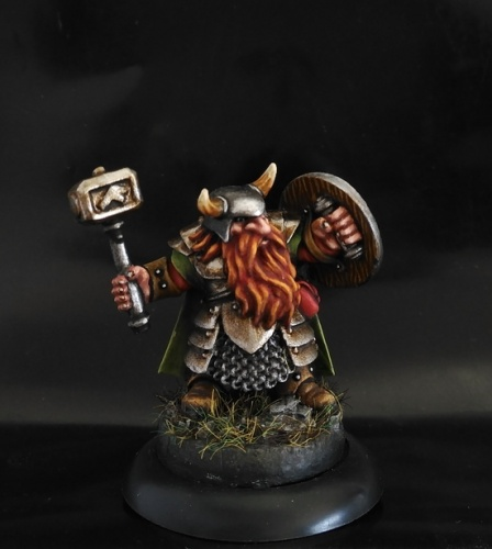 07011 Dungeon Dwellers: Borin Ironbrow, Dwarf Adventurer