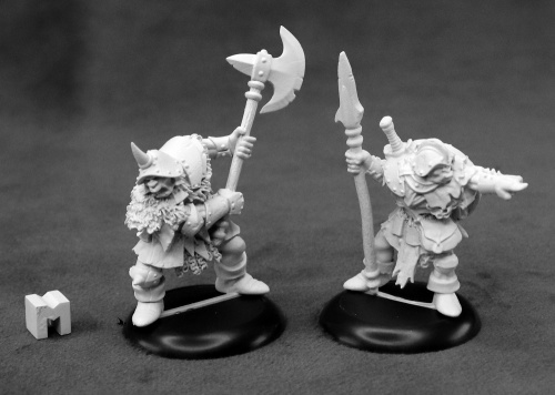 07014 Dungeon Dwellers: Orc Warriors