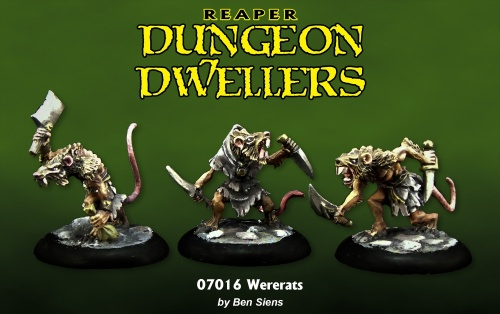 07016 Dungeon Dwellers: Wererats (3)