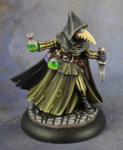 07017 Dungeon Dwellers: Sister Hazel, Plague Doctor