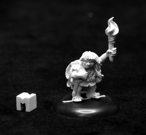 07018 Dungeon Dwellers: Gus Greenweevil, Halfling Henchman