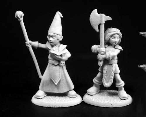 03760 Adventuring Kids #1 - Wizard and Barbarian