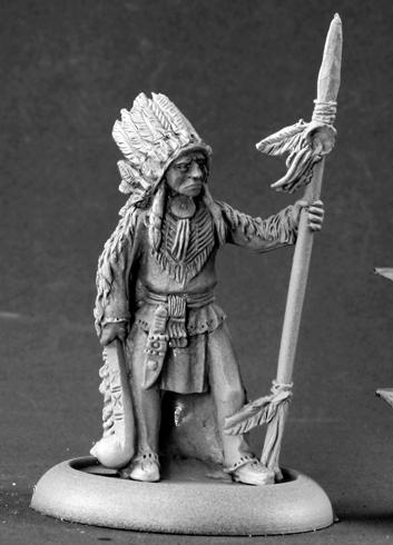 50113 Native American Chieftain