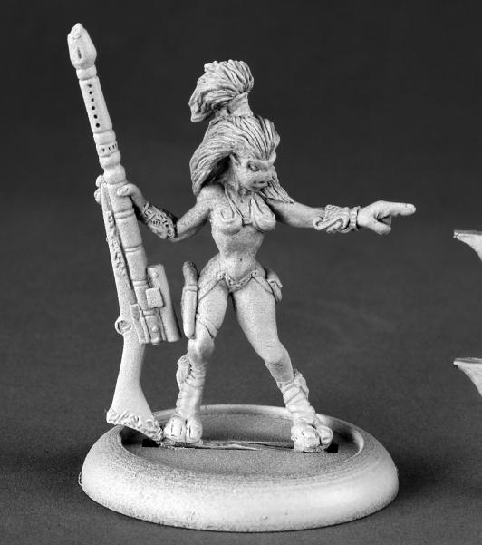50136 Female Andromedan Hunter