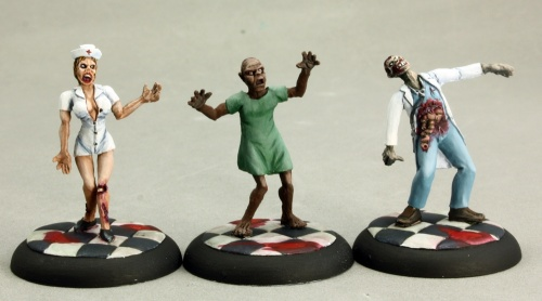 50266 Zombies: Doctor, Nurse, and Patient