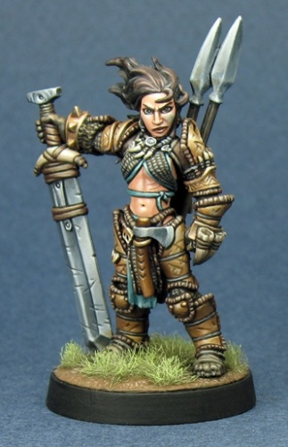 60003 Amiri, Iconic Female Human Barbarian