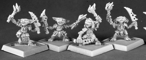89003 Pathfinder Goblin Warriors (4)