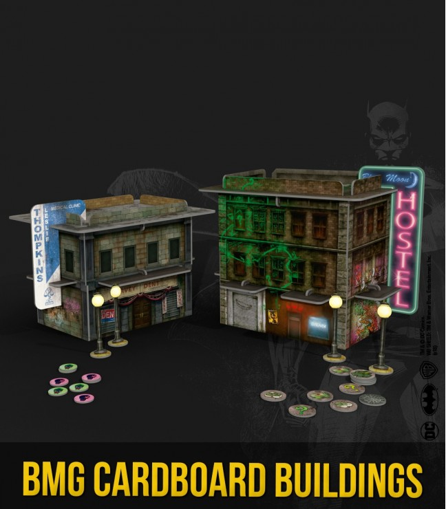 BMG Cardboard Buildings