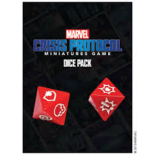 CP02EN Marvel Crisis Protocol: Dice Pack