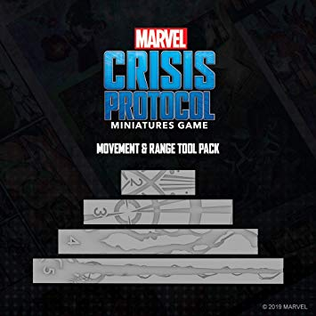 CP03EN Marvel Crisis Protocol: Measurement Tools