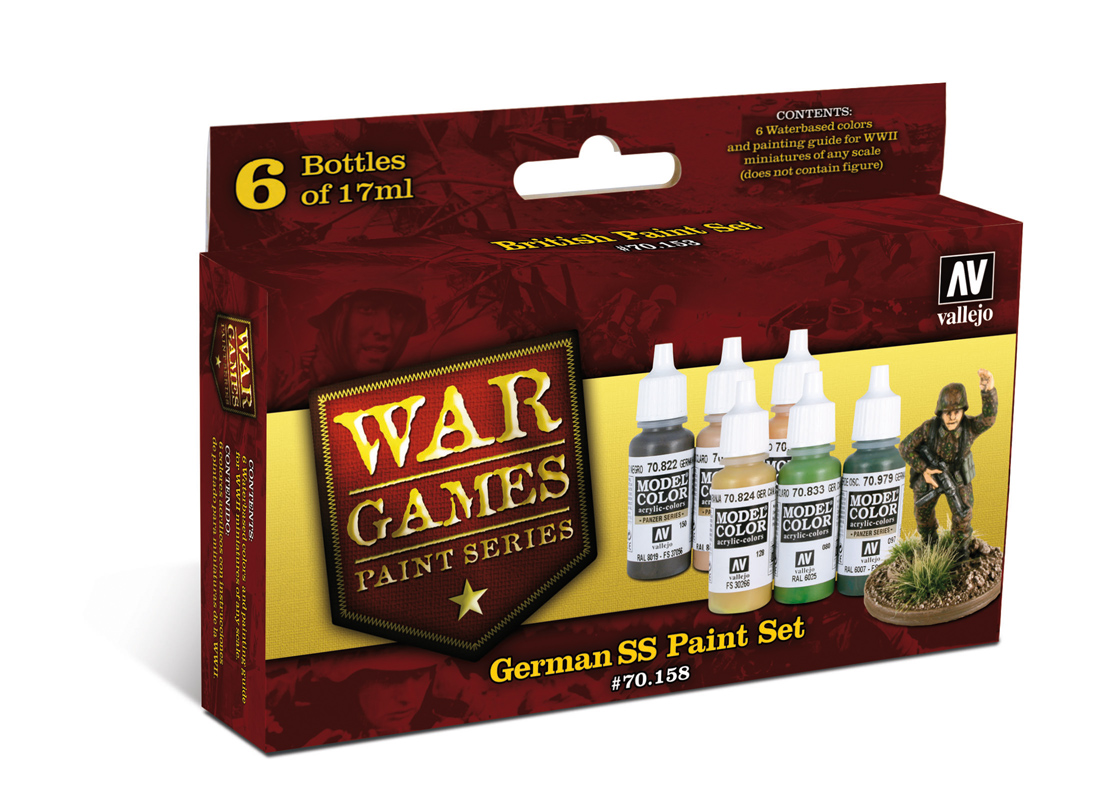 War Games - German SS paint set