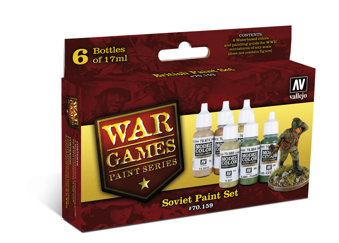 War Games - Soviet Paint Set