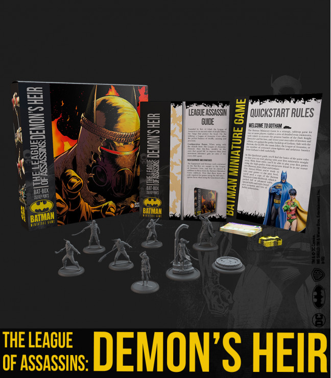 The League of Assassins - Demon's Heir
