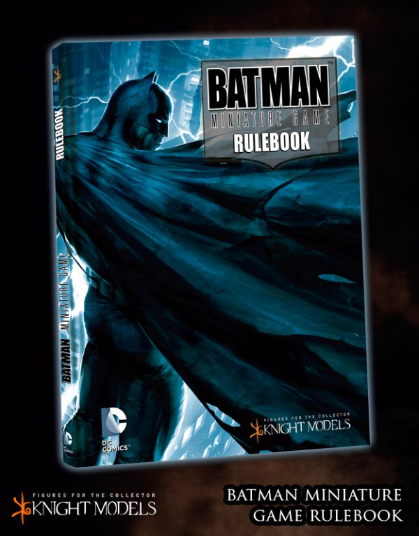 BMG001 BMG Rulebook (Batman Cover)