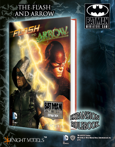BMG003 The Flash and Arrow Expansion Rule Book