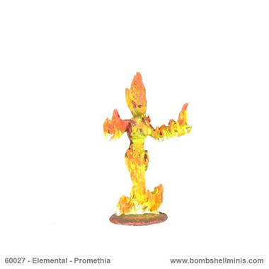 BOM60027 Promethia, Fire Elemental