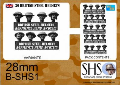BSHS1 British in Steel Helmets