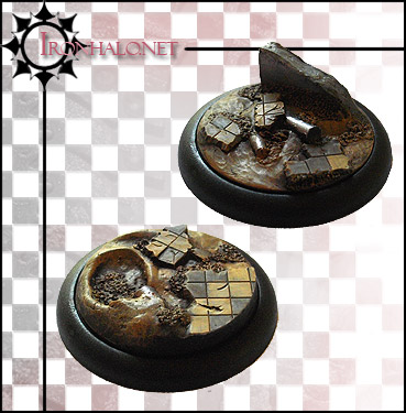 BTBIL Battlefield of Tharn Inserts for 50mm Bases