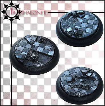 BTBIM Battlefield of Tharn Inserts for 40mm Bases