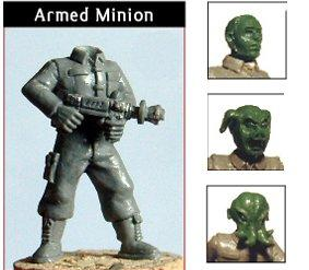 DWM006a Minion Mob – Armed, Alien Heads
