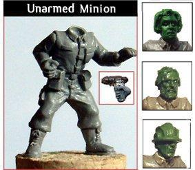 DWM006d Minion Mob – Unarmed, Human Heads