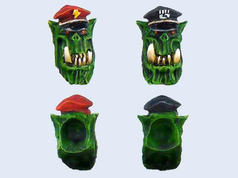 C00010 Orcs Generals Heads set