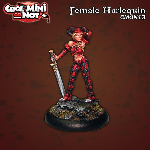 CMN0013 Female Harlequin