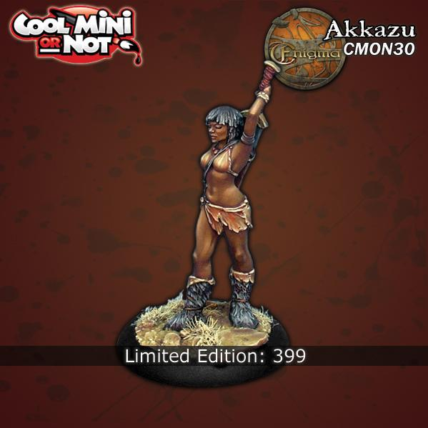 CMN0030 Akkazu from Enigma Miniatures