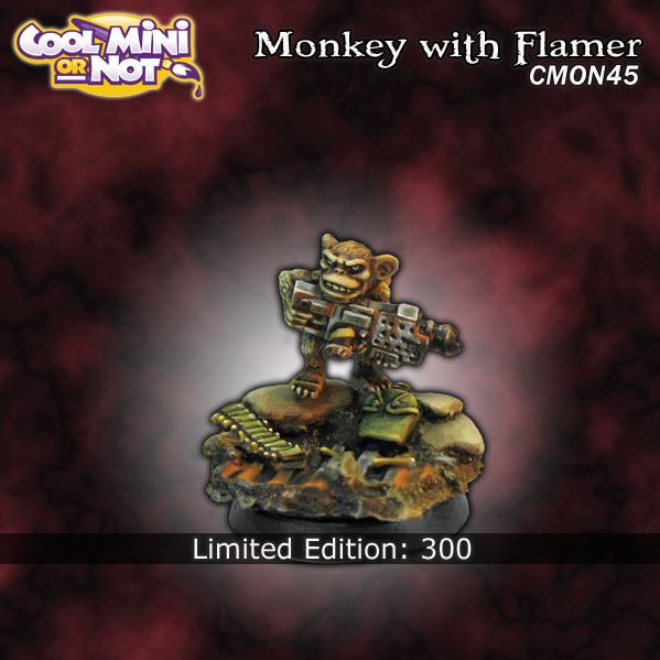 CMoN0045 Monkey with Flamer