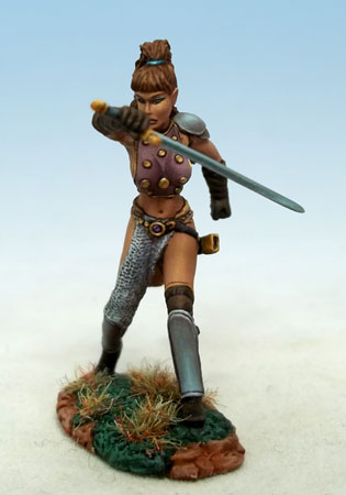 DSM1174 Female Warrior