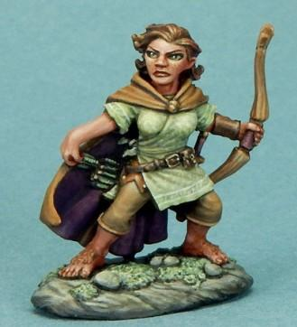 DSM7310 Female Halfling Ranger with Bow
