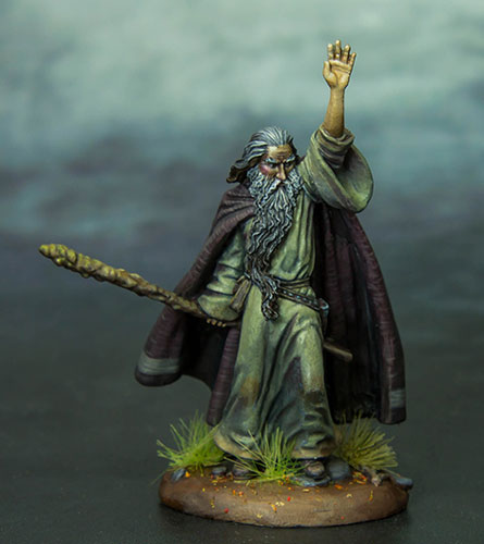 DSM7316 Ancient Wizard w/Staff