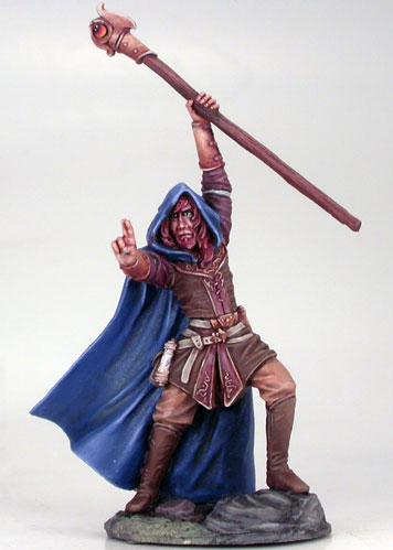 DSM7413 Male Mage w/Staff