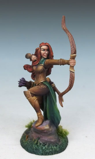 DSM7450 Female Elven Ranger w/Bow