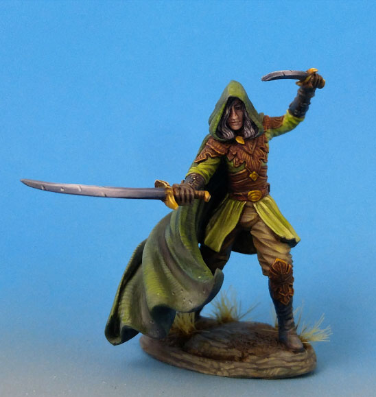DSM7452 Male Elven Warrior/Ranger - Dual Wield