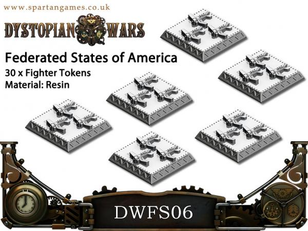 DWFS07 Fighter Tokens (30)