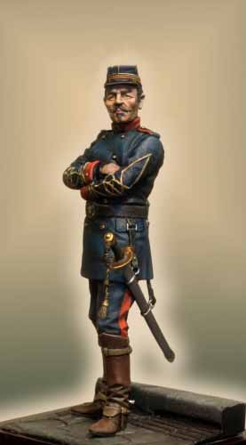 GG001R OFFICIER DE LA GARDE MOBILE 1870