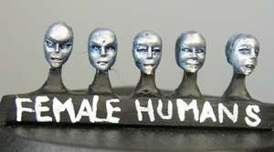 HFL100 Human Female Heads