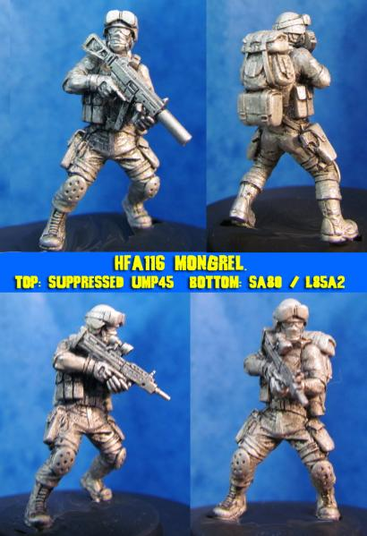 HFA116 Mongrel, Modern trooper